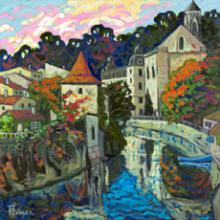 Village of Brantome - Dordogne
